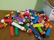 Pez Dispensers Lot Of 60 Disney Holiday Heroes Trucks Vintage And Unopened