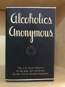 Alcoholics Anonymous 2nd Edition 13th Printing Original Dust Jacket