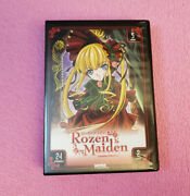 Rozen Maiden The Complete Collection Dvd 2011 5 Disc 24 Episodes Oop