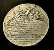 1900 Present From Russia King Nicholas Ii To Olympic Paris Medal Daniel Dupuis