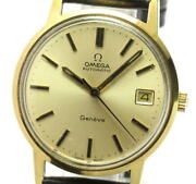 Omega Geneve Ref.166.0163 Cal.1012 Antique Automatic Winding Mens Secondhand
