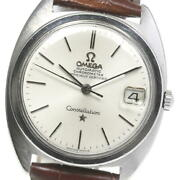 Omega Constellation Chronometer 168.017 Date Automatic Winding Mens Secondhand