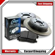 Centric Parts Front 3 Of Disc Brake Pad Set Disc Brake Rotors For C32 Amg