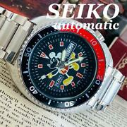 Seiko Mickey Mouse Mens Watch Vintage Used