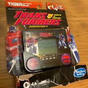 Tiger Trans Formers Electron Game Watch
