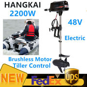 Hangkai 48v Boat Engine Electric Outboard Brushless Motor 2200w 3000 R/min New