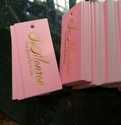 1000pcs Customized Hang Tags Labels For Clothes Trademark Manufacture Clothing