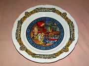 Vintage 1960-70s Howe Caverns Ny Schoharie County  Collector Plate