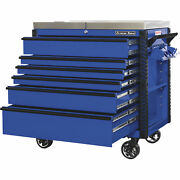 Extreme Tools Ex Professional Series 41in. 6 Drawer Stainless Steel Sliding Top