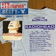 Radiohead The Bends / Rock Wave Japan Tour And03995 T-shirt Bacardi And Coke