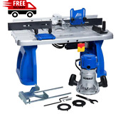 Kobalt Fixed Corded Router W/ Table 12amp Home Power Tools And Workshop Equipment