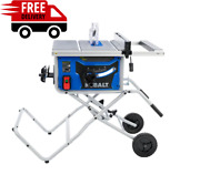 Kobalt 10-in Carbide-tipped Blade 15-amp Portable Table Saw