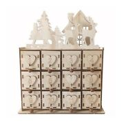 Jewelry Box Crafts Wood Heart Advent Calendar Christmas And Holiday / Home Decor