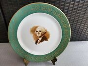 Collectible Hotel George Washington Syracuse China Reproduction Plate 10and039and039w