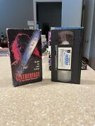 Leatherface The Texas Chainsaw Massacre 3 1990 Vhs 1st Edition Horror Rare