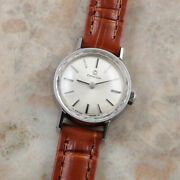 Omega Silver Dial Prism Windshield Womenand039s Antique Watches Hand-wound 1965
