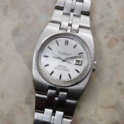 Omega Constellation Chronometer Women And039s Antique Automatic White Gold Wg Bezel