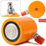 30 Ton Low Height Hydraulic Cylinder Jack Ram Single Acting Cylinder 60mm Stroke