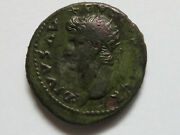Augustus - Died A.d.14 Restitution Issue Of Titus. Dupondius. Rev-victory. Gvf