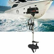 800w Inflatable Fishing Boat Engines Propeller Tiller Control Outboard Motor