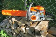 """Stihl Ms 211 C Chainsaw With 16"""" Bar And Chain"""