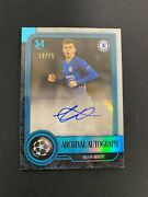 Mason Mount 2019-20 Topps Museum Collection Ucl Archival Rc Auto 19/75 Jersey