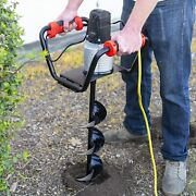 1500w Industrial Electric Post Hole Digger /110v Fence Plant Soil Dig Powerhead