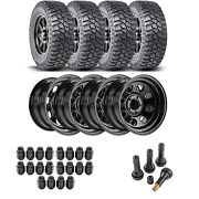 Jegs 681110k34 Wheel And Tire Kit For 1987-2006 Jeep Wrangler/1984-2001 Jeep
