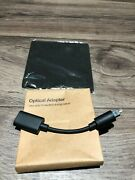 Sonos Optical Adapter For Audio From Your Tv To Arc Or Beam And Cleaning Cloth New