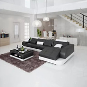 Design Sofa Corner Couch Pads Set Coffee Table New