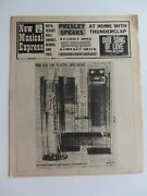 The Beatles N.m.e July 5th1968 Plastic Ono Band Give Peace A Chance Front Cover