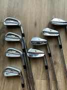 Nike Tiger Woods Vr Pro Blades Combo Iron Set 3-p8pc Project X 6.0 Great Cond