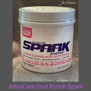 Advocare Spark Fruit Punch Canister 42 Servings New Free Shipping