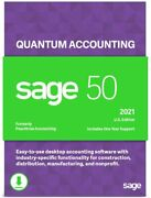 Sage 50 Quantum 2021 U.s. 8-users Business Accounting Software Download