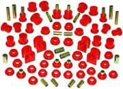 Prothane 99-04 Ford 4wd F-250 Super Duty Complete Suspension Bushing Kit Red