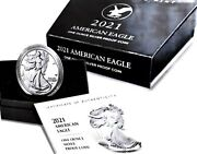 2021 W American Eagle 1oz Silver Proof Type 2 Presaleandnbsp+free Silver And Shippin