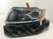 Headlight Driver Lh Left Jeep Grand Cherokee Damaged Parts Only 2014-2016 Oem