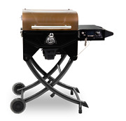 Portable Wood Pellet Grill Pit Stop Smoker With Foldable Legsnew