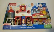 Fisher-price Little People Smart Stage Caring For Animals Farm Sound Playset New