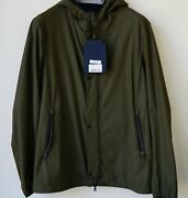 Clearance 50 Authentic Menand039s Herno Jacket Size 50 Military7750 845