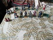 Nice Lot Of Lead Toy Figures Made In U.s.a Manoil, Barclay, And More