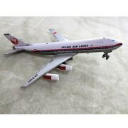 Nomura Toy Japan Airlines Boeing 747 Tin Vintage Toy Jal Airplane Figure Used