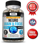 Brain Health And Memory Booster Focus Function Clarity Nootropic Supplement