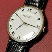 Rare Schaffhausen Menand039s Watches 1977 Make Roman Dial Working Products