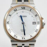 Citizen Exceed Euros 35th Anniversary Model Eco-drive Radio Wave Mens Wristwatch