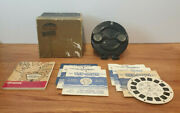 Vintage 1944 Bakelite Sawyer's View Master Model B With Box, Catalogue And Reels