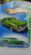 2010 Hotwheels Treasure Hunt And03969 Ford Mustang 12 Of 12 1/64 Scale