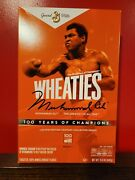 Wheaties Century Collection Gold Box 1 Muhammad Ali Sold Out In Hand