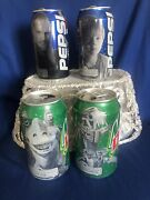 Coca Cola Mountain Dew Star Wars Soda Cans Mixed Lot Empty