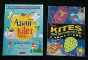 2 Book Asian Kites For Kids Easy-to-make High Fliers Japanese Chinese